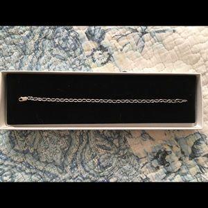 Sliver chain bracelet